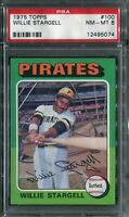 1975 Topps #100 Willie Stargell PSA 8 NM-MT