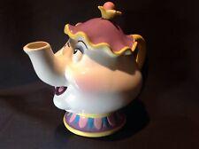 Disney Beauty & The Beast Ceramic Mrs. Potts Teapot Bank by Schmidt Mint Cond.