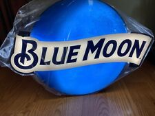 New Blue Moon Beer Led Light Lamp Man Cave Sign with Chalk Board