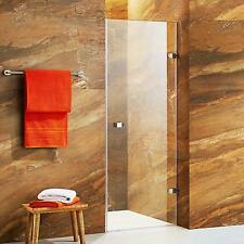 VIGO Tempo 24-inch Adjustable Frameless Shower Door with Clear Glass and