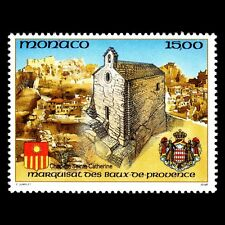 Monaco 1992 - Marquis of Baux de Provence Architecture Church- Sc 1835 MNH