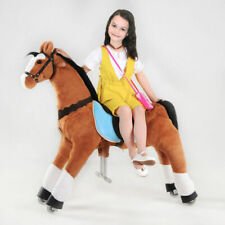 Kids Large Mechanical Rocking Horse Rocker Toy Girls Ride on Bounce up Down Move
