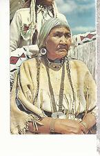Indian Beadmaker   Montana   Postcard 81116