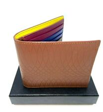 $250 Paul Smith Men Leather Wallet Billfold No.9