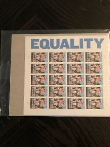 2013 Equality 1963 Black March On Washington-20 Forever Stamps~NEW & Sealed