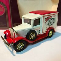 MATCHBOX LESNEY MODELS OF YESTERYEAR Y-22 1930 MODEL 'A' FORD VAN MIB NOS