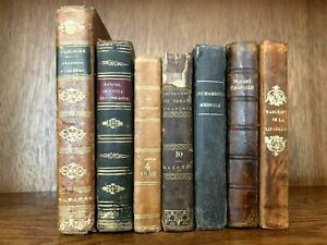 OLD BOOKS COLLECTION 1700-1800s