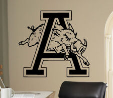 NCAA Arkansas Razorbacks College Football Wall Decal Vinyl Sticker Poster (7nc)