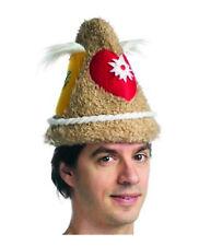 Traditional German Oktoberfest October Beer Hat Cone Soft Costume Men's Women's