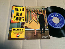 "BELA SANDERS - TANZ MIT - BLUES - 7""-EP - PHILIPS 423 386 PE - GERMANY (10)"