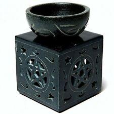 Stone 00006000  Carving Tea Light Holders Handmade Aroma Burners Essential Oil Fragrance