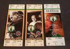 Vince Carter 2nd 3rd 4th game in Boston Paul Pierce  FULL TICKET