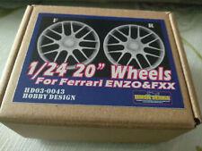 HOBBY DESIGN  Wheels axis set for Tamiya 1/24