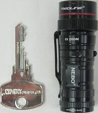 Nebo Micro Redline High Power LED Flashlight #6272-A