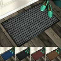 Rubber Mat Non Slip Door Mats Indoor Outdoor Washable Carpet Rug Heavy Duty