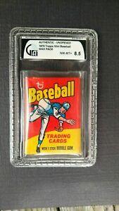 1975 TOPPS MLB BASEBALL MINI 1-200 PACK FRESH BUY 5 CARDS FREE SHIPPING