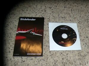Bitdefender Antivirus Plus Disk and quick start guide - Replacement disk no key