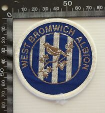 VINTAGE WEST BROMWICH ALBION FC FOOTBALL CLUB EMBROIDERED PATCH CLOTH BADGE