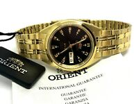Men's Watch Orient Automatic 21 jewels Stainless Steel Japan WristWatch Rare New