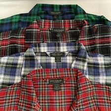 State O Maine Mens Pajama Set Shirt/Pant Flannel Plaid (4 Patterns) Size 4XL NEW