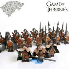 30PCS Game of Thrones House Stark Composite Army Mini Figure Building Blocks Toy