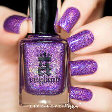 A England - Nail Polish - ANGEL GRACE - Soft Orchid Purple With Subtle Shimmer