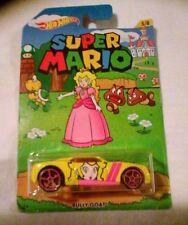 PRINCESS PEACH Hot Wheels Car SUPER MARIO WORLD Mario Brothers BULLY GOAT CAR