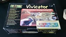 Exo Terra Remote Controlled Vibrating Feeding Dish Vivicator Reptile *Brand new*