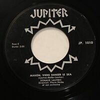 QUEBEC POP 45 - DONALD LAUTREC Manon Viens Danser Le Ska CANADA 1965