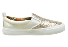 Pepe Jeans Traveler Glitter, Girls Low-Top Sneakers Gold (Pink champagne) 6 UK