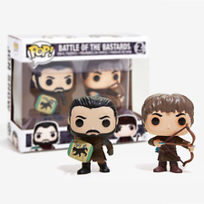 New Game Of Thrones Battle Of The Bastards Pop Vinyl 2 Figure Pack Official