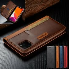 Case For iPhone 12 Mini 12 Pro Max 11 Leather Flip Wallet Card Stand Phone Cover