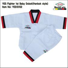 YES Fighter 1st Baby TaeKwonDo/KARATEDO Dobok/Uniform/Hanbok style