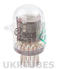 IN-2 NIXIE TUBE DISPLAY 0...9 DIGITS, VALVE FOR CLOCK, VI-1990, NOS, 6pc
