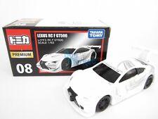 Takara Tomy Tomica Premium 08 Lexus RC F GT500 Scale 1/63  Diecast Toy Car 2015
