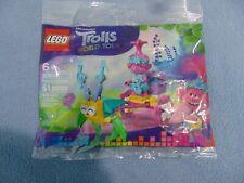 Lego Dream Works Trolls World Tour Polybag #30555 HTF Poppy's Carriage Brand New