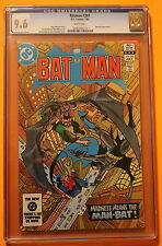 BATMAN #361 1st HARVEY BULLOCK 1983 TV's GOTHAM Man-Bat Jason Todd CGC NM+ 9.6