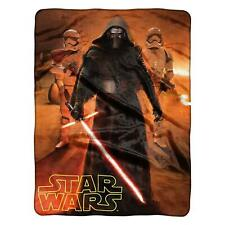 "Star Wars Kylo Ren The Force Trio HD Silk Touch Soft Throw Large Size 46""x60"""