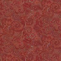 Robert Kaufman Paisley Prints Rust Brown BTY SB4214D32 fabric new