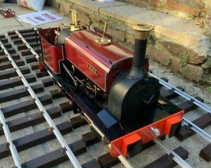 "5"" Inch Gauge Live Steam Maxitrak Alice Hunslet Locomotive"