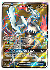 Pokemon -Dragon Majesty - White Kyurem GX - SM141 - Ultra Rare - Full Art - NM/M