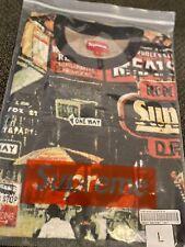 Supreme street scene Jacquard  S/S TOP (Multi-color) (Large) FW20 *ON HAND*