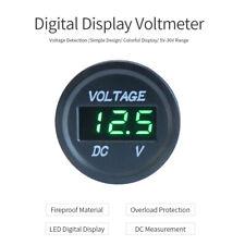 Digital Display  Battery Gauge Voltage Meter Car Voltmeter Marine Motorcycle