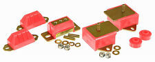 PROTHANE 76-86 CJ5 CJ7 CJ8 6cyl Motor Trans Mounts w/ Torque Arm Bushing Kit RED