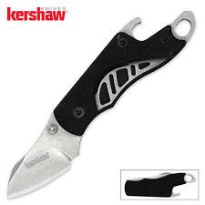 KERSHAW - CINDER Folding lock-blade KEYCHAIN Knife & BOTTLE OPENER Hinderer 1025