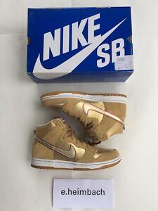 Nike SB Dunk High Premium Eric Koston Thai Temple Gold size 12 313171-702