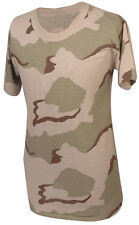 Desert 3 Color Camo Short Sleeve T-Shirt / Made in the USA - FREE SHIPPING