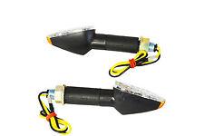 Black Long Stem E-marked LED Indicators for Honda CB CBF 500 600 900 1000 Hornet