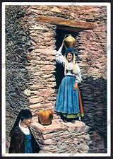 SARDEGNA - COSTUME COSTUMI 134 ARITZO Cartolina viaggiata 1951 - ALINARI