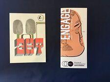 Barry mcgee art post card Kaws Futura 2000 Banksy Supreme Shepard Fairey Retna